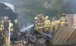 firefighters+rubble