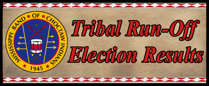 Tribal Run Off Election Results